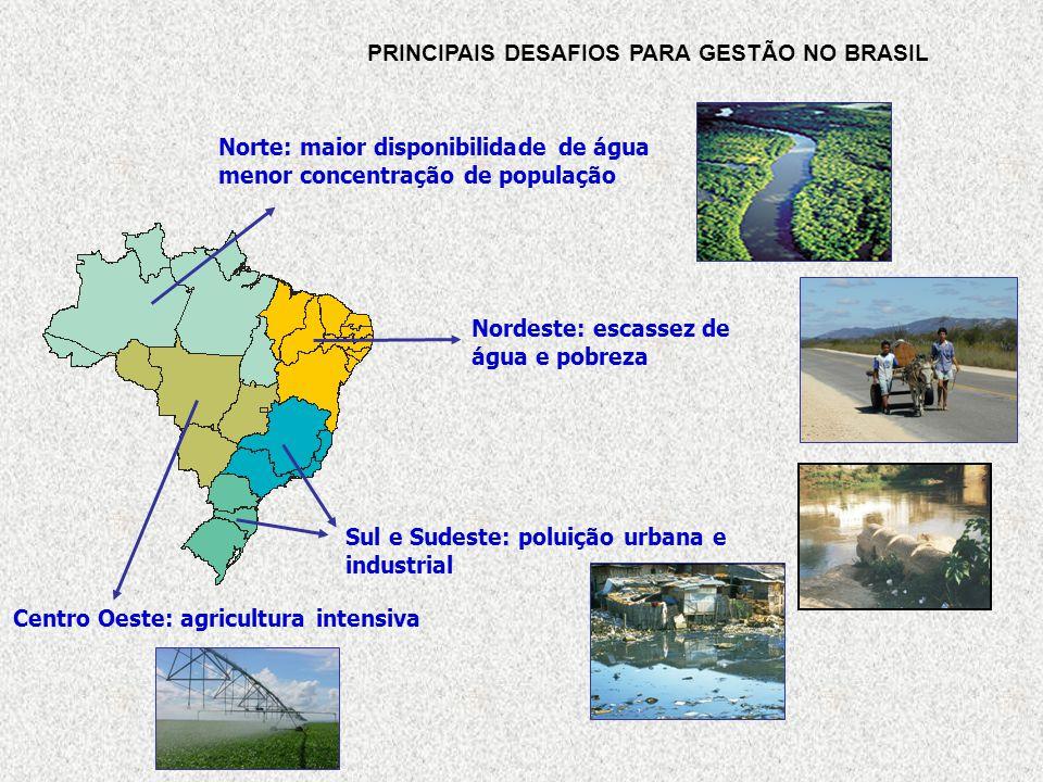 PRINCIPAIS DESAFIOS PARA GESTÃO NO BRASIL