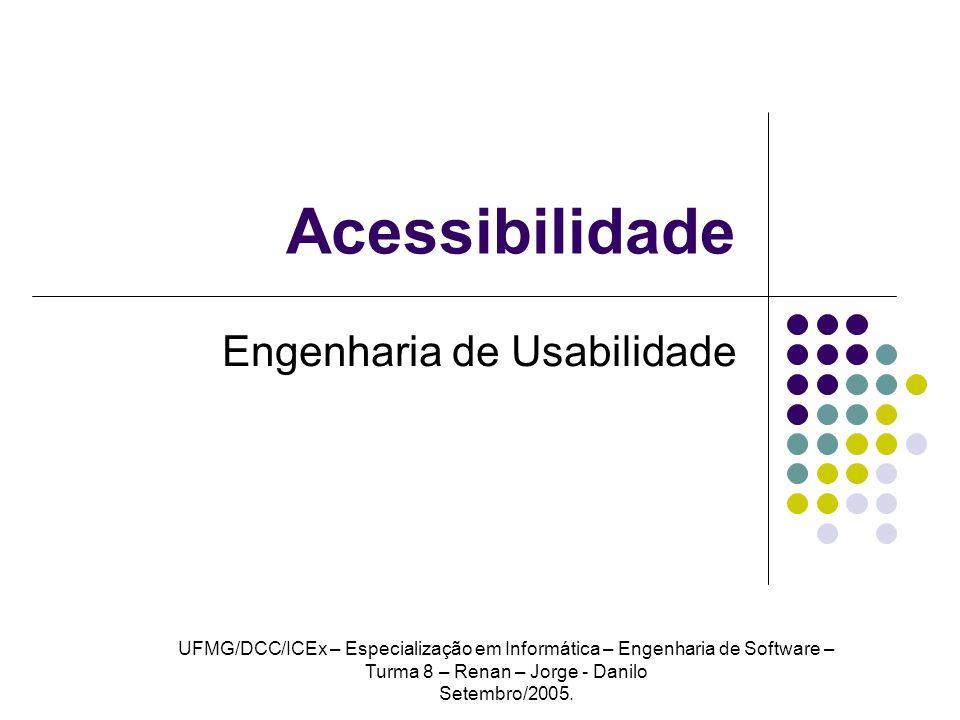 UFMG DCC ICEx - Especialização em Informática