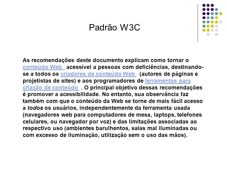 Padrão W3C