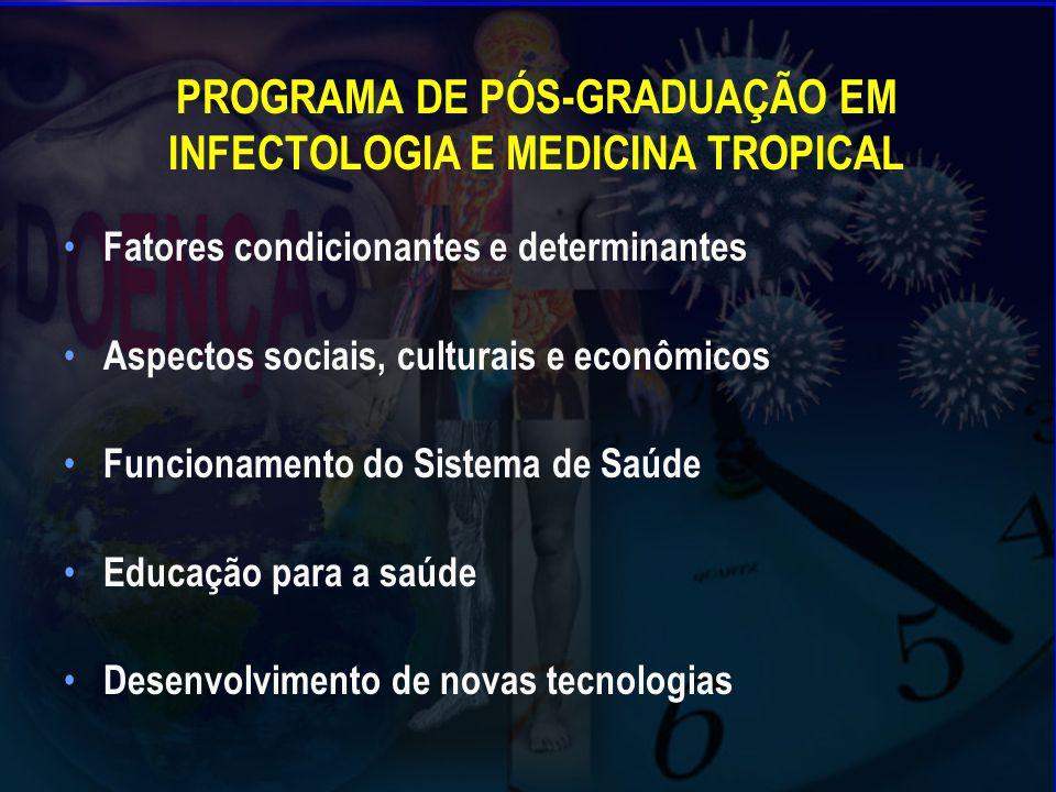 PROGRAMA DE PÓS-GRADUAÇÃO EM INFECTOLOGIA E MEDICINA TROPICAL