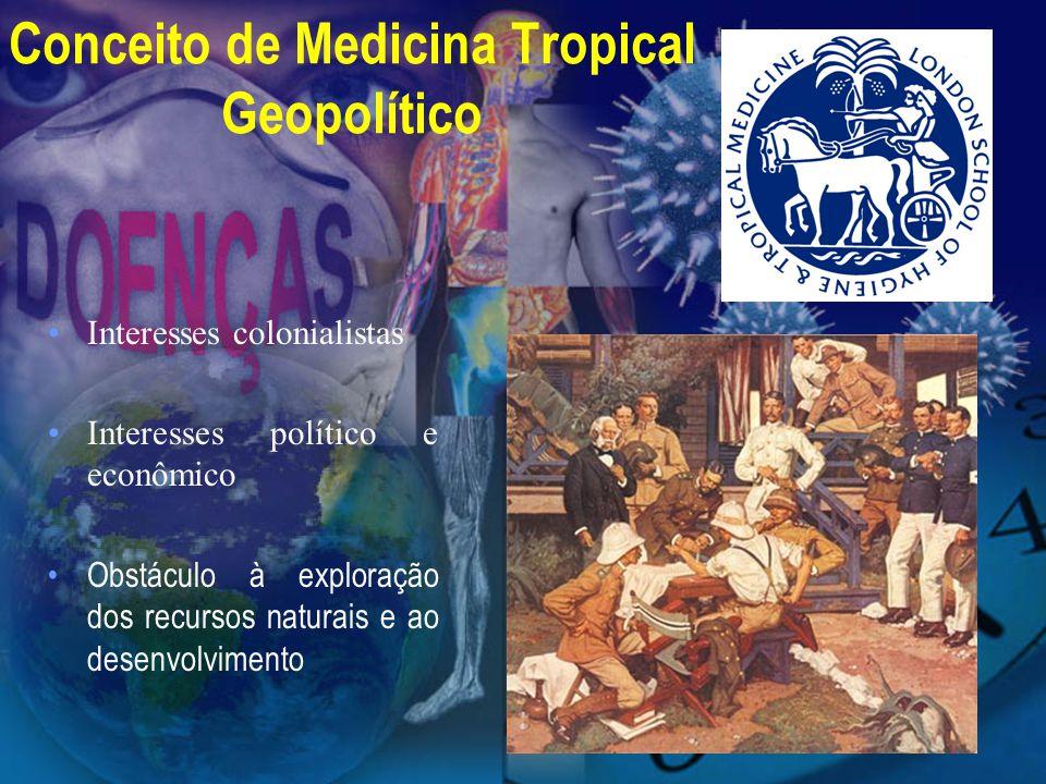 Conceito de Medicina Tropical Geopolítico