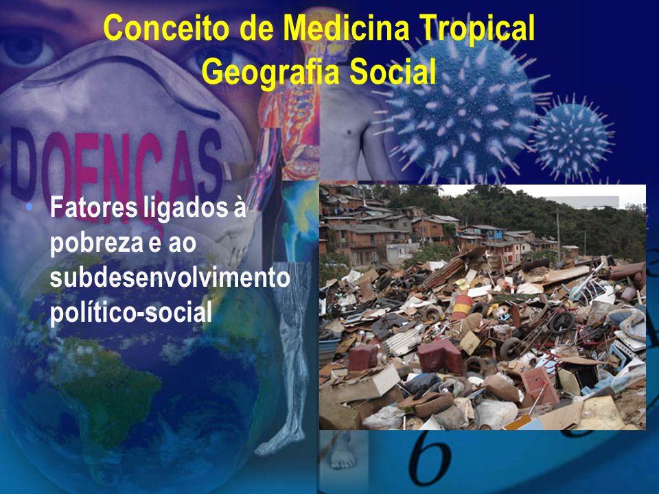 Conceito de Medicina Tropical Geografia Social