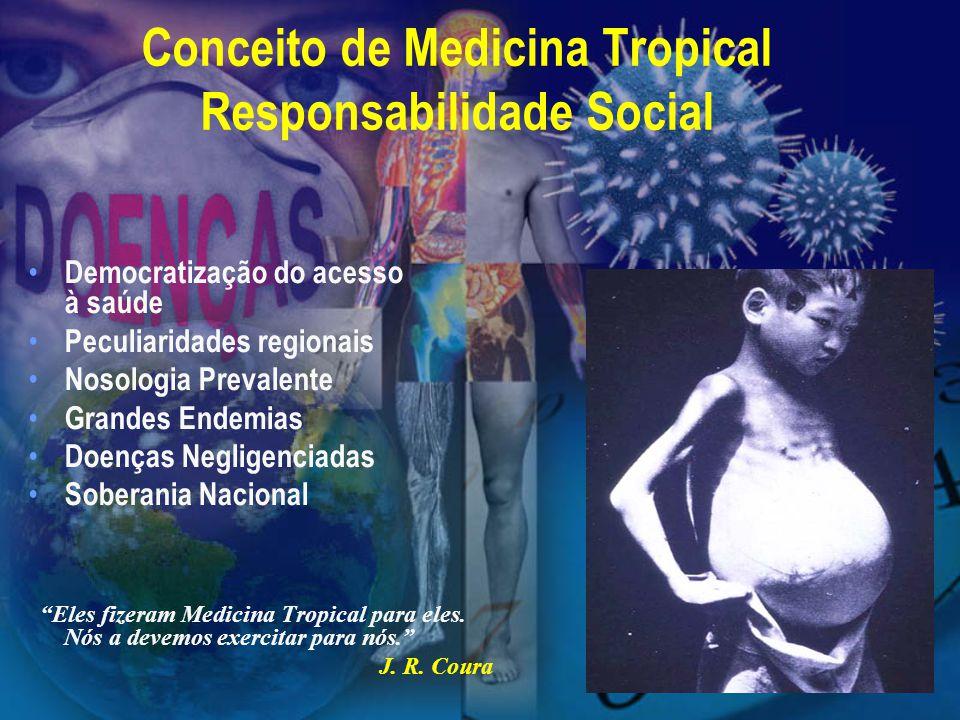 Conceito de Medicina Tropical Responsabilidade Social