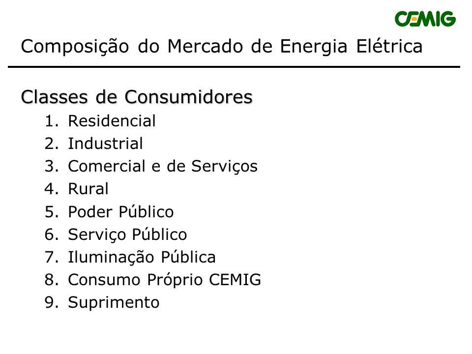 Composição do Mercado de Energia Elétrica