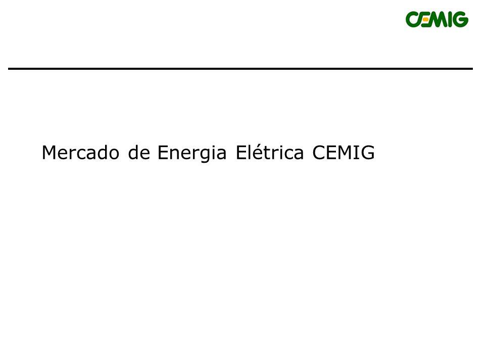 Mercado de Energia Elétrica CEMIG