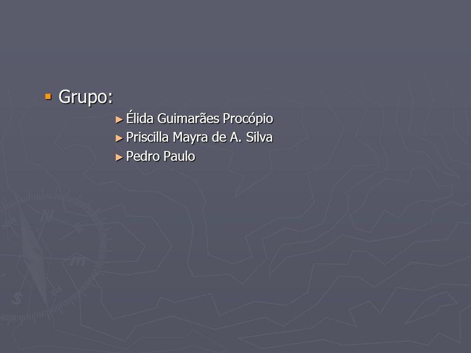 Grupo: Élida Guimarães Procópio Priscilla Mayra de A. Silva
