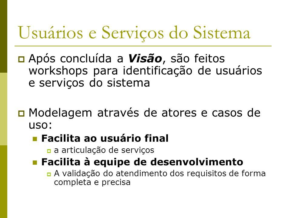 Usuários e Serviços do Sistema