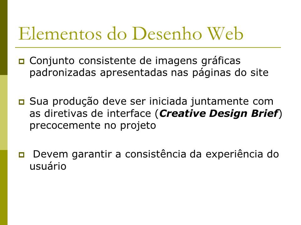 Elementos do Desenho Web