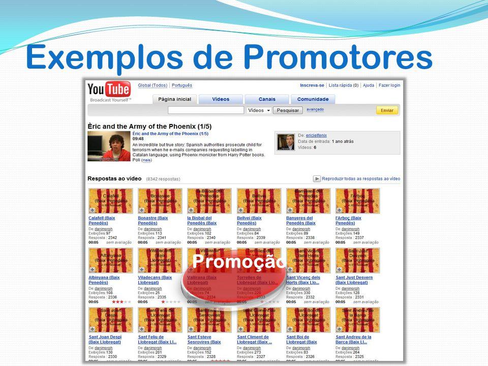 Exemplos de Promotores