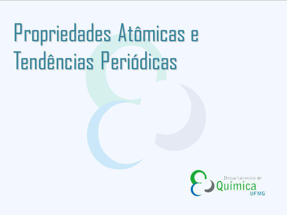 Propriedades Atômicas e Tendências Periódicas