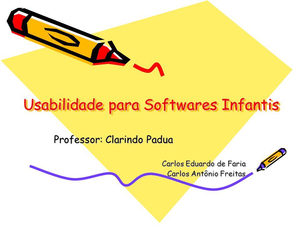 Usabilidade para Softwares Infantis
