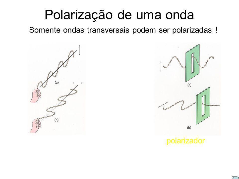 Polarização de uma onda