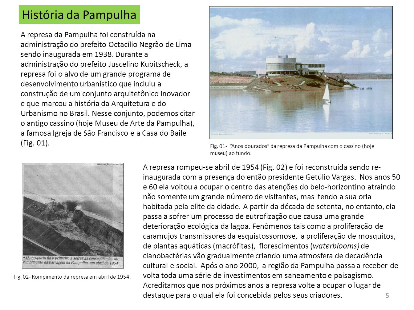 História da Pampulha