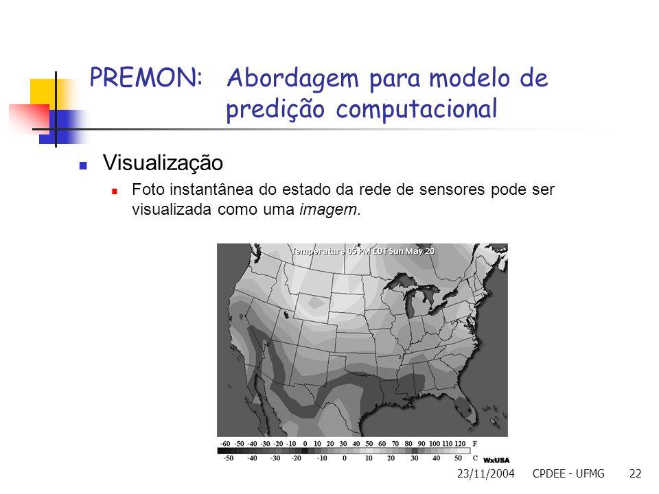PREMON: Abordagem para modelo de predição computacional