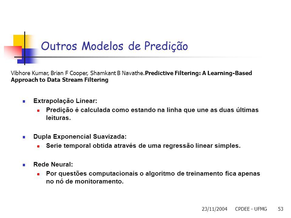 Outros Modelos de Predição