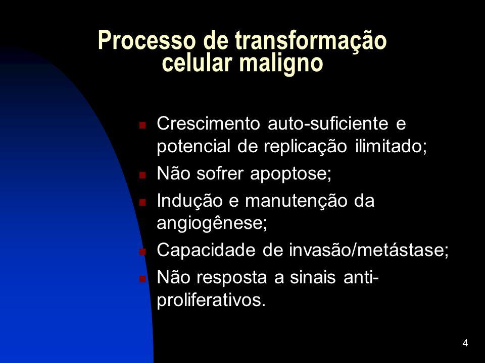 Processo de transformação celular maligno