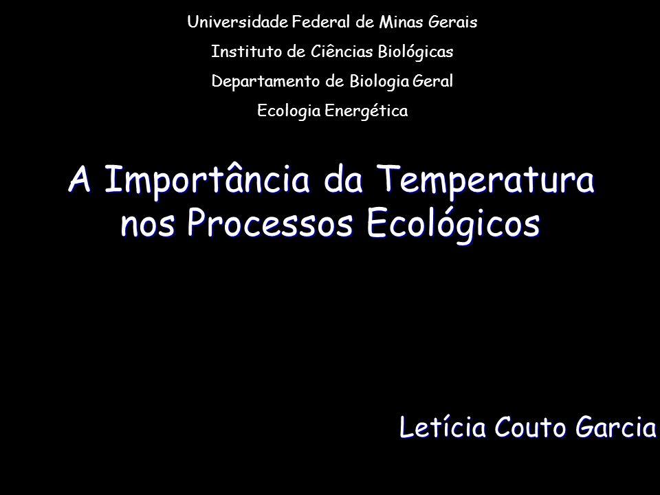 A Importância da Temperatura nos Processos Ecológicos