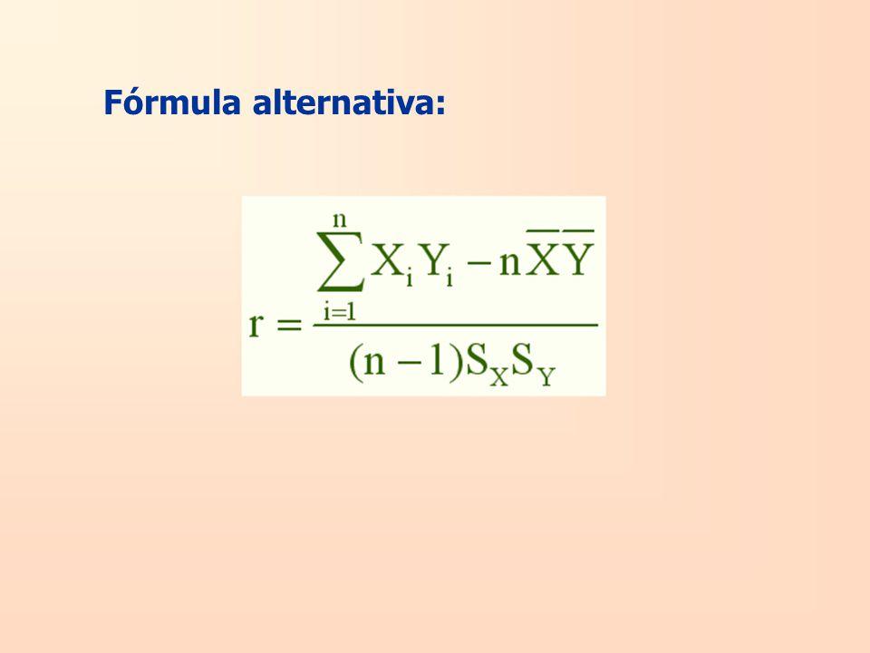 Fórmula alternativa: