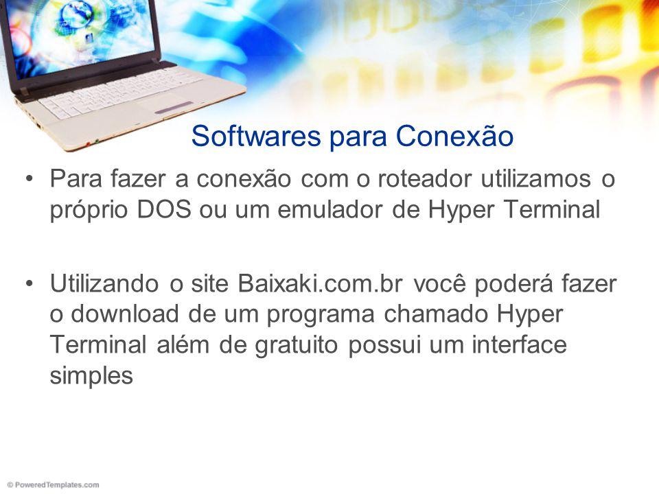 Softwares para Conexão