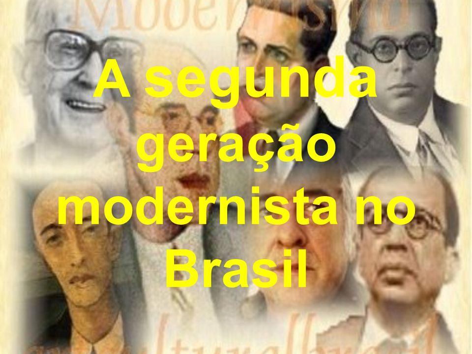 A segunda geração modernista no Brasil