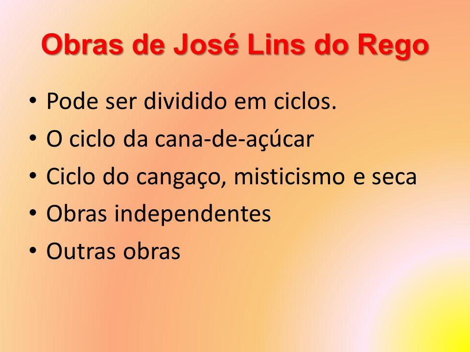 Obras de José Lins do Rego
