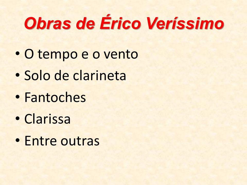 Obras de Érico Veríssimo