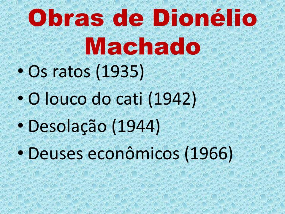 Obras de Dionélio Machado