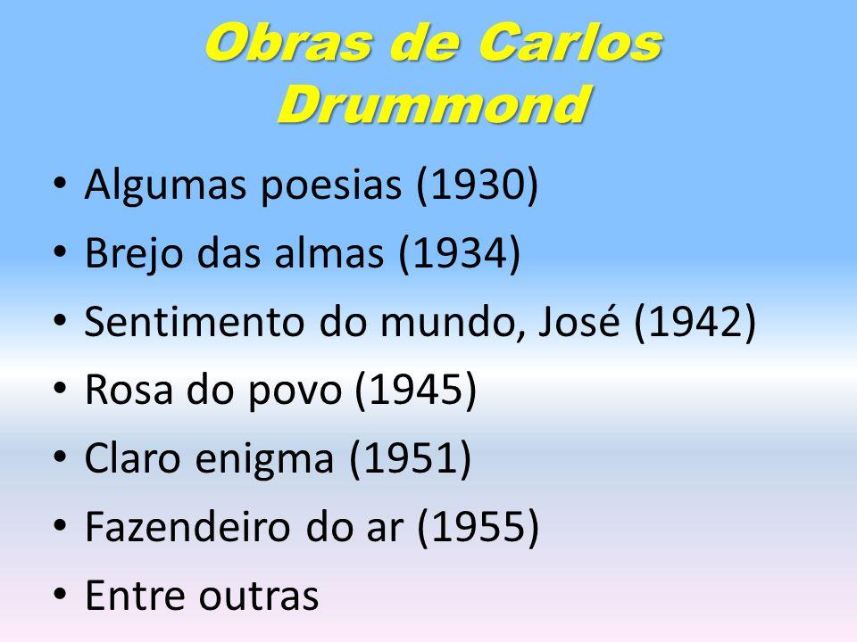 Obras de Carlos Drummond