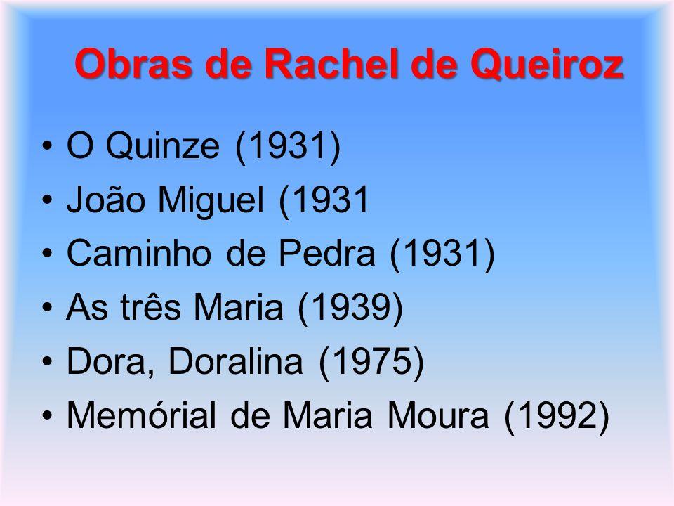 Obras de Rachel de Queiroz