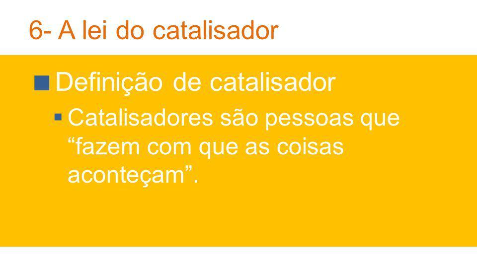Definição de catalisador