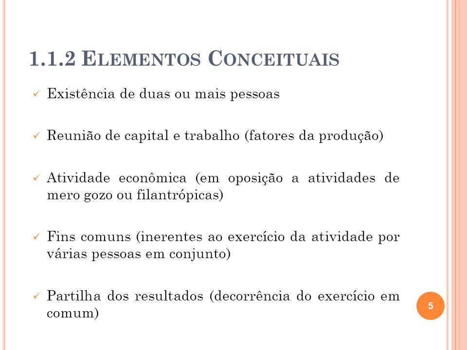 1.1.2 Elementos Conceituais