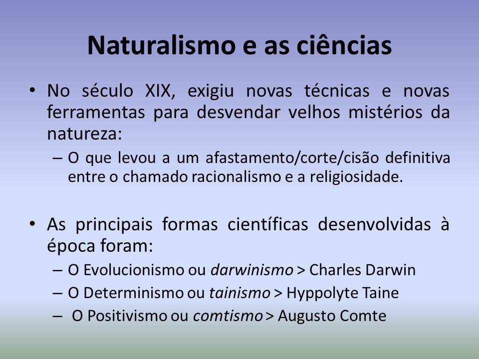 Naturalismo e as ciências