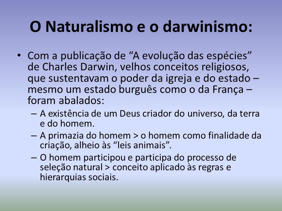 O Naturalismo e o darwinismo: