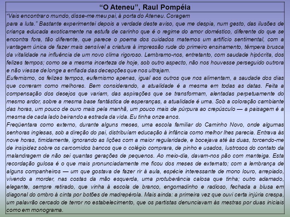 O Ateneu , Raul Pompéia