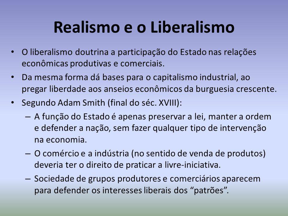 Realismo e o Liberalismo