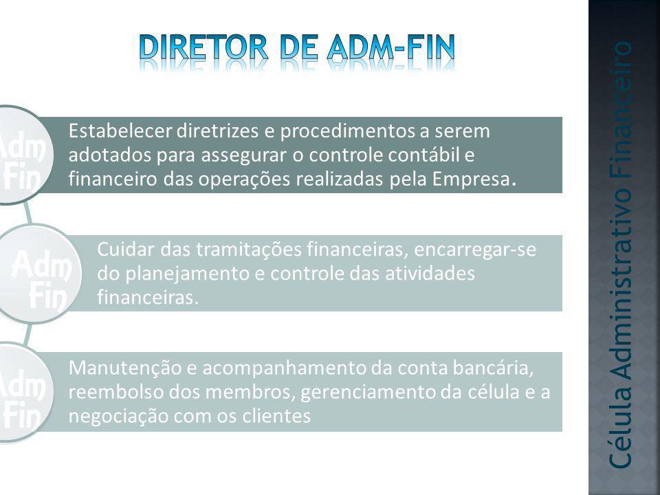 Diretor de adm-fin Célula Administrativo Financeiro