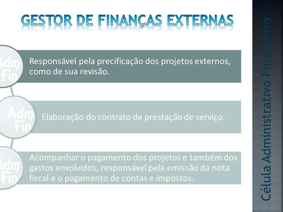 Gestor de finanças Externas