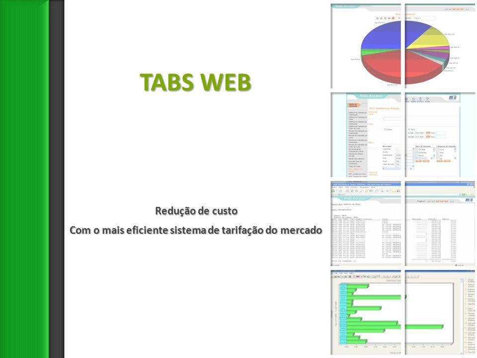 TABS WEB Redução de custo
