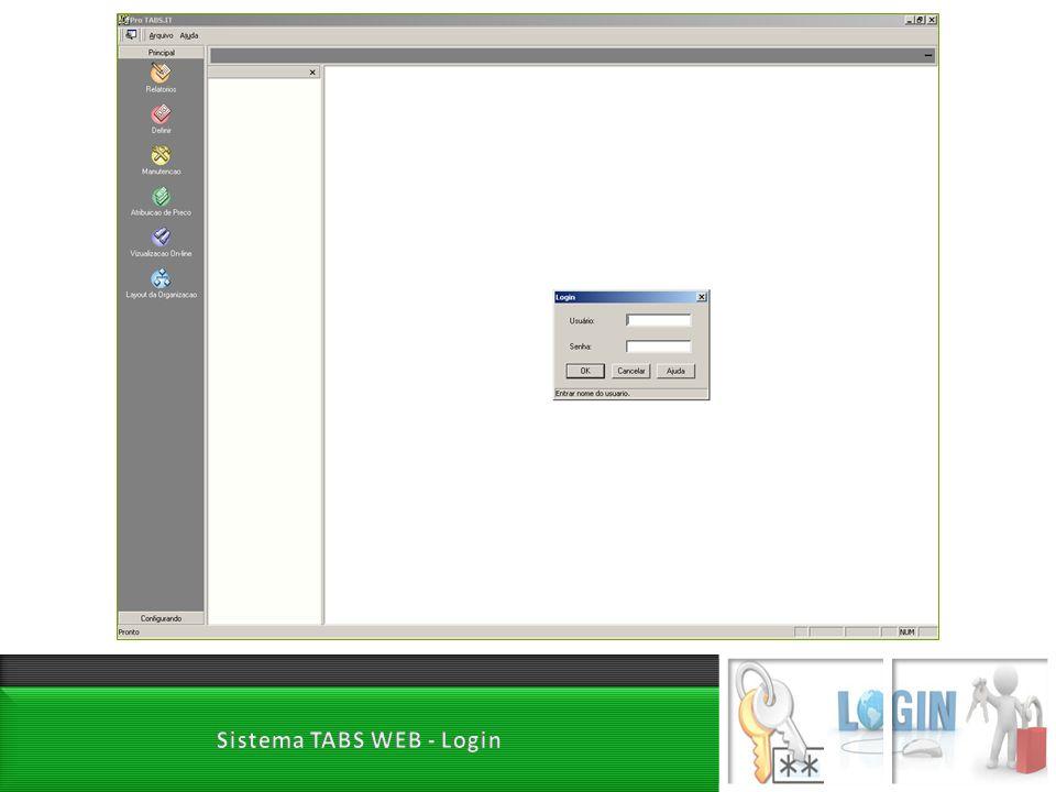 Sistema TABS WEB - Login