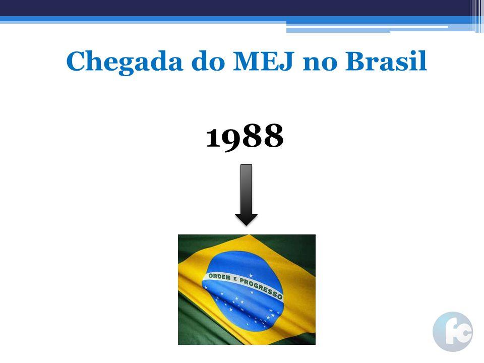 Chegada do MEJ no Brasil