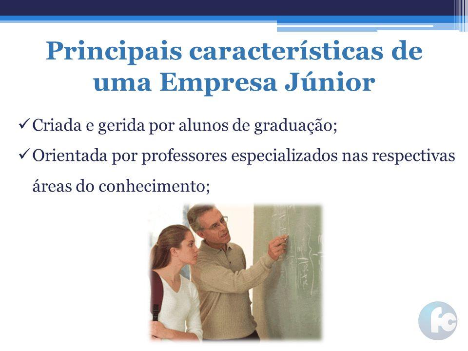 Principais características de uma Empresa Júnior