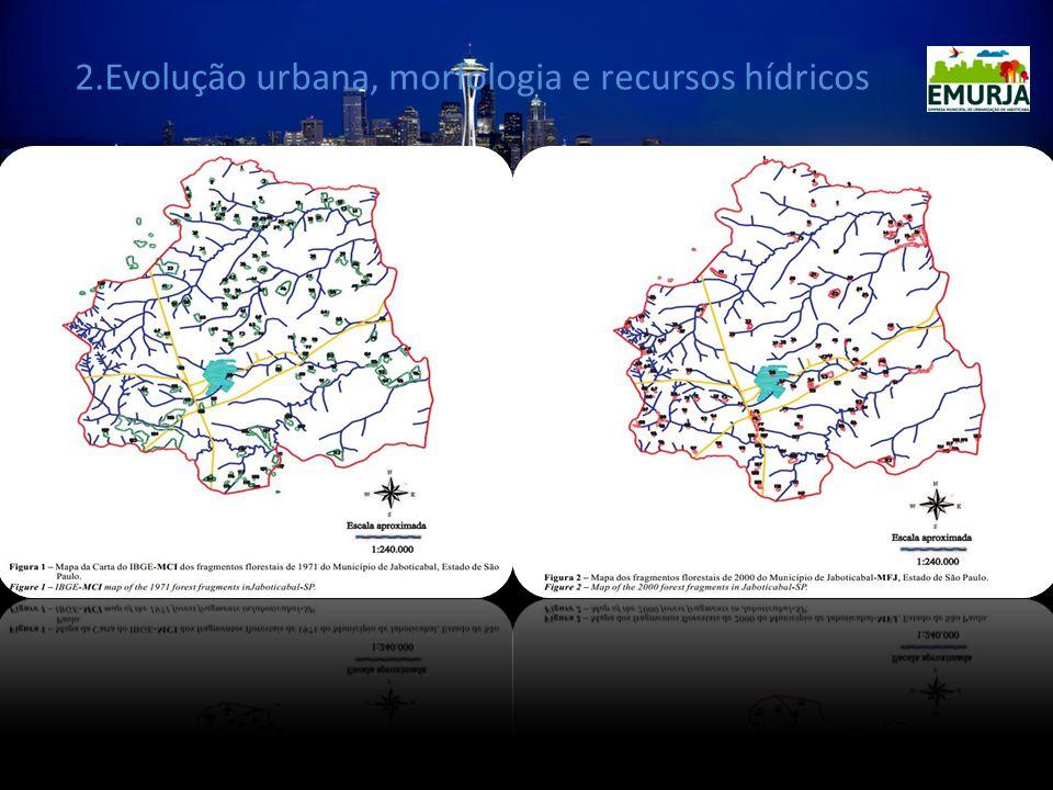 2.Evolução urbana, morfologia e recursos hídricos