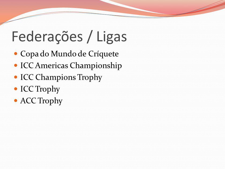 Federações / Ligas Copa do Mundo de Críquete ICC Americas Championship