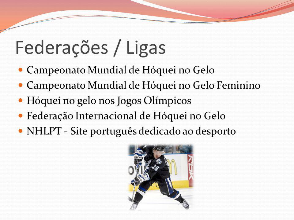 Federações / Ligas Campeonato Mundial de Hóquei no Gelo