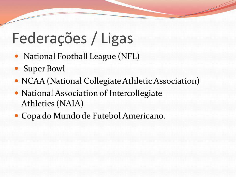 Federações / Ligas National Football League (NFL) Super Bowl