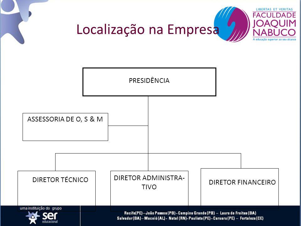 Localização na Empresa
