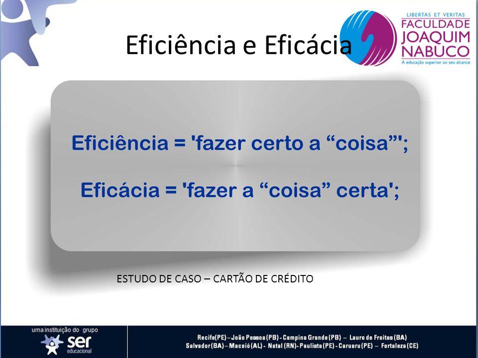 ESTUDO DE CASO – CARTÃO DE CRÉDITO