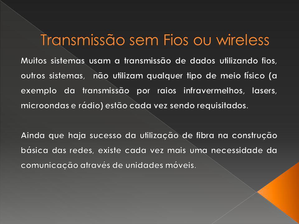 Transmissão sem Fios ou wireless