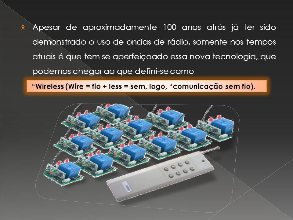Apesar de aproximadamente 100 anos atrás já ter sido demonstrado o uso de ondas de rádio, somente nos tempos atuais é que tem se aperfeiçoado essa nova tecnologia, que podemos chegar ao que defini-se como