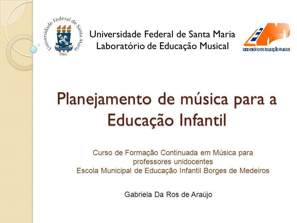 Super Planejamento de música para a Educação Infantil - ppt video online  WP53